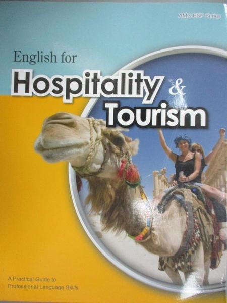 【書寶二手書T3/語言學習_QDF】大專用書:English for Hospitality & Tourism
