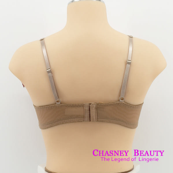 Chasney Beauty-Petel蕾絲花瓣B-D側包集中內衣(紫芋)