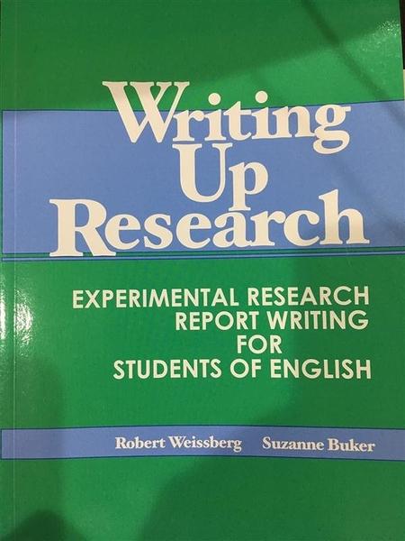 (二手書)Writing up research : experimental research report writing for s..