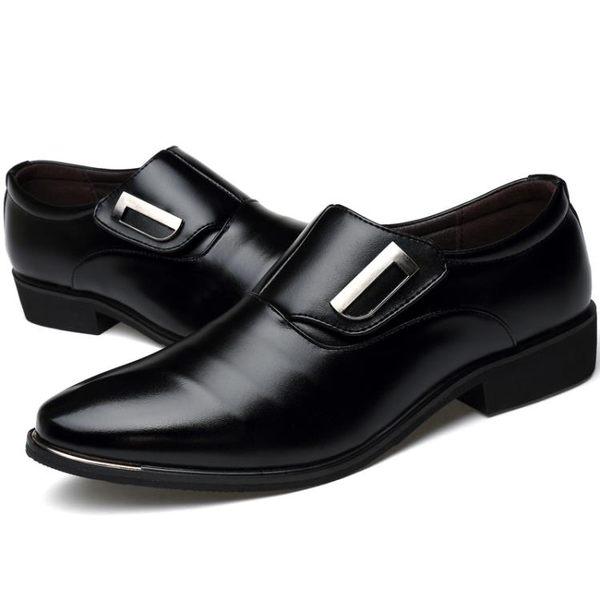 【618好康又一發】男士皮鞋男夏季男鞋透氣軟
