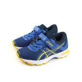 亞瑟士 ASICS GT-1000 6 PS  慢跑鞋 運動鞋 深藍色 中童 C741N-4504 no286