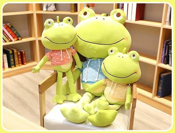 【90公分】青蛙王子娃娃 卡通仿真玩偶 絨毛蛙 生日禮物 聖誕節交換禮物 餐廳布置