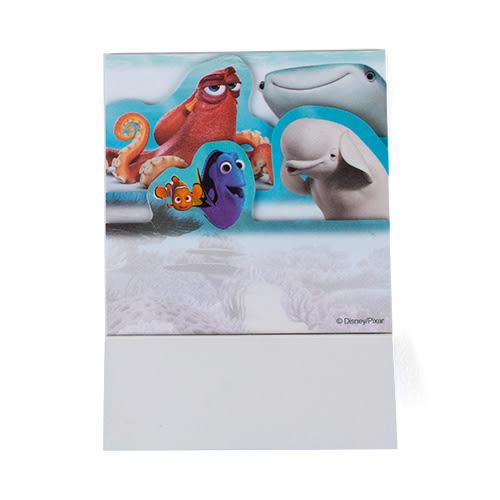 《sun-star》海底總動員2:多莉去哪兒 造型自黏便利貼(電影場景)★funbox生活用品★_UA49617