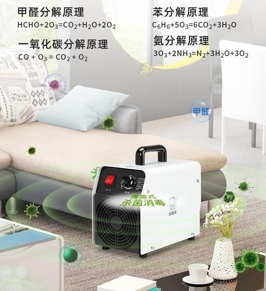臭氧機 消毒機臭氧發生器空氣凈化器家用小型車載養殖除甲醛異味殺菌 交換禮物