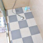 春季上新 浴室防滑墊 衛生間洗澡淋浴房拼接腳墊隔水墊大號衛浴廁所地墊子