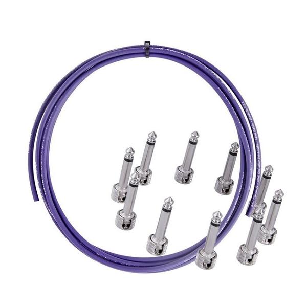 ☆唐尼樂器︵☆美國製 Lava TightRope 無氧銅鍍銀第三代 免焊接 單顆效果器 短導線組