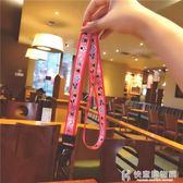 手機掛繩原創中國風桃花運玫紅掛脖寬帶可拆卸不勒脖個性女款通用 快意購物網