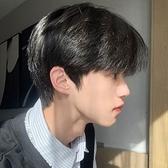 整頂假髮 全真髮-逼真碎瀏海手織頭旋男假髮74ay24【時尚巴黎】