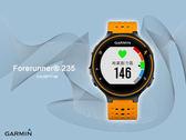 【時間道】GARMIN Forerunner 235-預購- 贈鋼化防爆膜 GPS腕式心率跑錶(活躍橘)免運費