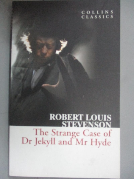 【書寶二手書T3/原文小說_HNS】The Strange Case of Dr Jekyll and Mr Hyde_Robert Louis Stevenson