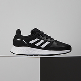 Adidas RUNFALCON 2.0 K 大童 黑 輕量 緩震 慢跑鞋 FY9495