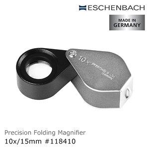 Eschenbach 10x/15mm 德國製金屬殼消色差珠寶放大鏡10x/15mm