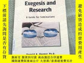 二手書博民逛書店New罕見Testament Exegesis and Rese