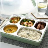 日式304不銹鋼保溫飯盒成人便當快餐盒大容量學生餐盤分格帶蓋