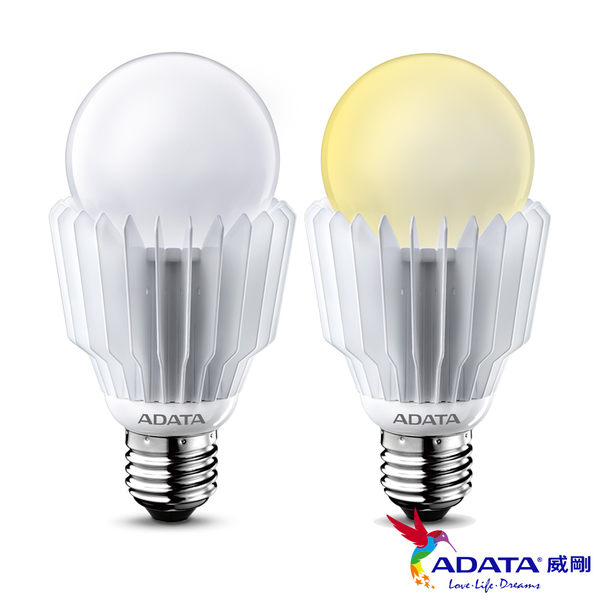 威剛ADATA LED燈泡 16W 全電壓 CNS認證 黃光 4入