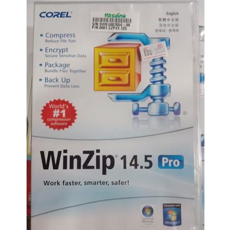 ★全新品 出清特價(含稅 免運費)★ WinZip 14.5 Pro【繁體中文版 / 英文版 / 韓文版 /簡體中文版】