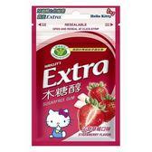 Extra木糖醇口香糖-沁甜草莓口味28g【愛買】