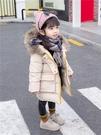 女寶寶棉衣免運新款4女童1棉服2兒童3歲冬裝中長款洋氣棉襖外套潮