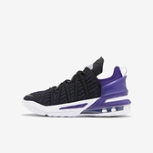 Nike Lebron Xviii (gs) [CW2760-004] 大童鞋 籃球 運動 休閒 緩震 抓地力 穿搭 黑