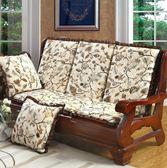 沙發套 人座木沙發防滑加厚海木沙發坐靠背体木椅【快速出貨八折搶購】