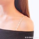 內衣肩帶隱形鏈子防滑美背文胸罩配件可拆卸調節外露透明肩帶女 美眉新品