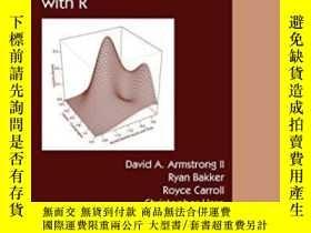 二手書博民逛書店Analyzing罕見Spatial Models Of Choice And Judgment With R-用