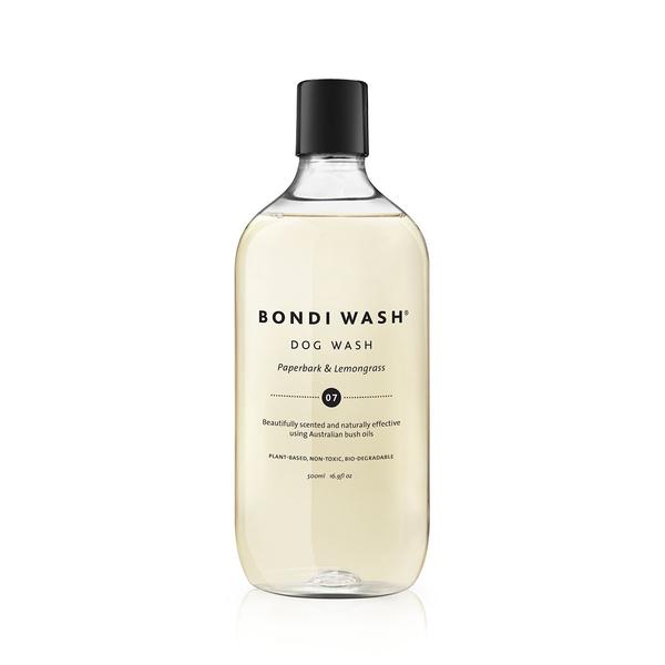 Bondi Wash Dog Wash Paperbark & Lemongrass 500ml, Dog Range Series 寵物系列 潔毛精 白千層&檸檬草口味