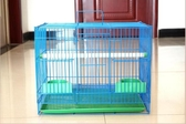 鳥籠金屬鳥籠鴿子相思鳥籠子鸚鵡籠兔子籠通用鳥籠群籠繁殖籠 居享優品