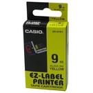 【奇奇文具】卡西歐CASIO XR-9YW1 9mm×8M 黃底黑字 標誌帶