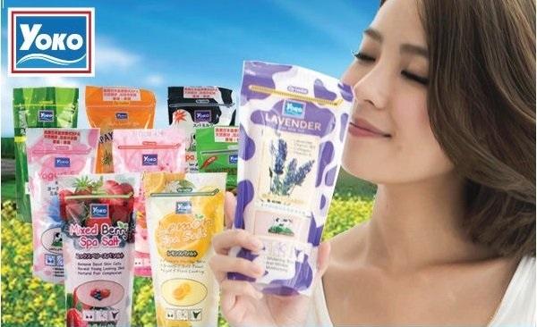 ●魅力十足● YOKO 優菓 SPA精油雙效去角質泡浴鹽 SPA磨砂沐浴鹽/身體去角質 300G補充包