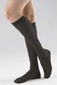 醫療彈性襪 海伸-小腿(原絲-黑色)無露趾 140DEN(18-22mm/Hg)