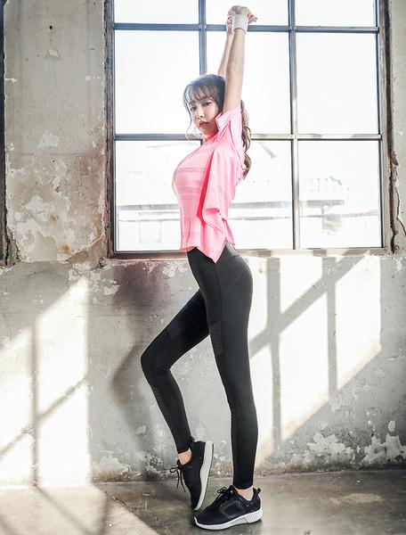 出清款-【BODYAIR】後綁帶美腰柔軟寬上衣(運動.瑜珈.慢跑)