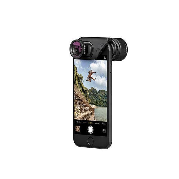 olloclip iPhone 7/7 Plus 核心手機鏡頭-魚眼廣角微距