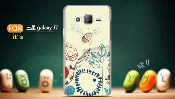 ♥ 俏魔女美人館 ♥[ 12763559*水晶硬殼} Samsung Galaxy J7手機殼 手機套 保護殼 保護套