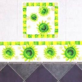 組合式美飾轉印膠片-向日葵(1入)