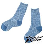 【PolarStar】兒童保暖雪襪『藍綠』P19613 露營.戶外.登山.保暖襪.彈性襪.休閒襪.短筒襪.兒童襪