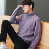 毛衣/針織衫 高領加厚寬松休閑潮流韓版