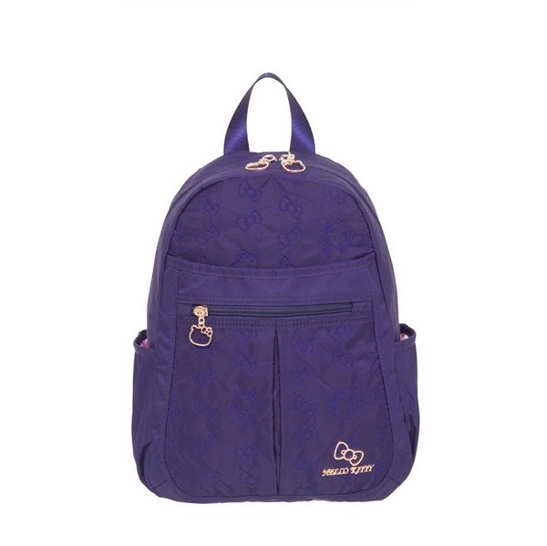 Hello Kitty - 快意之旅-後背包(小)-紫 KT01R01PL