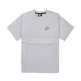 Nike 短袖T恤 NSW Short-Sleeve Top 灰 彩色 男款 短T 再生材質 運動休閒 【ACS】 CU4510-905