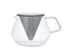 金時代書香咖啡 KINTO CARAT 玻璃茶壺 600ml KINTO-21680-600