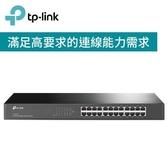 TP-LINK TL-SF1024 24 埠 10/100Mbps 機架裝載交換器【回饋↘省$203(適合宿舍網路機房)】
