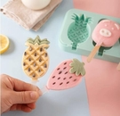 澳洲KE兒童雪糕模具家用自制冰激凌硅膠做冰棒冰淇淋卡通冰格冰棍「草莓妞妞」