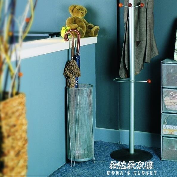 雨傘架 鐵藝絲網居家用簡約雨傘桶收納架掛傘架創意客房放傘桶日式 牛年新年全館免運
