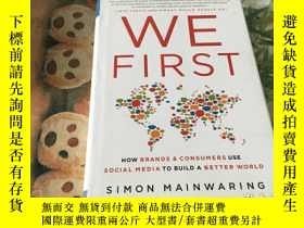 二手書博民逛書店We罕見first:how brands & consumers use social media to buil