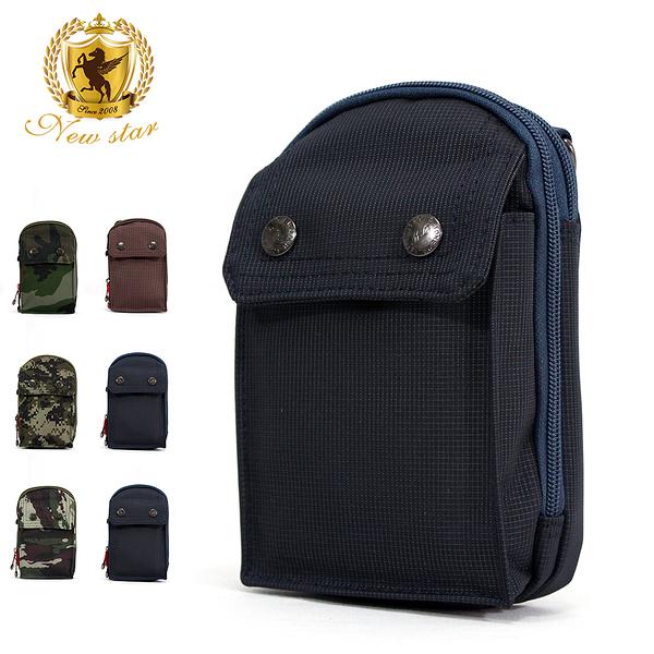 腰包 素面迷彩雙層隨身包包 小包 掛包 手機包包 男 女 男包 現貨 NEW STAR BW33