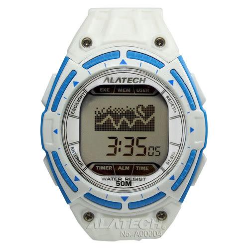 ALATECH FB003 專業健身 心率錶-白色