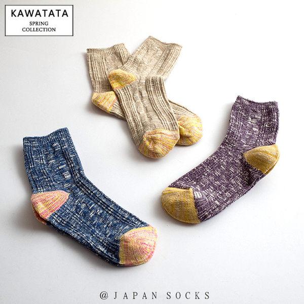 日本針織雙色雪花襪/3色【556120218】