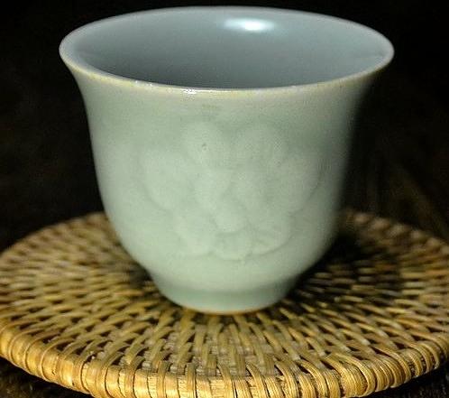 【協貿國際】龍窯燒製江山盃牡丹杯茶杯