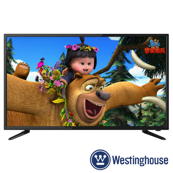 《促銷》Westinghouse美國西屋 43吋KE-43V02 Full HD液晶電視 附視訊盒