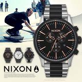 【人文行旅】NIXON | A386-2051 THE SENTRY CHRONO 軍事風格